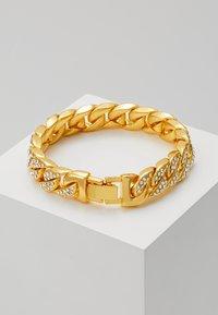 Urban Classics - BIG BRACELET WITH STONES - Armband - gold-coloured - 2