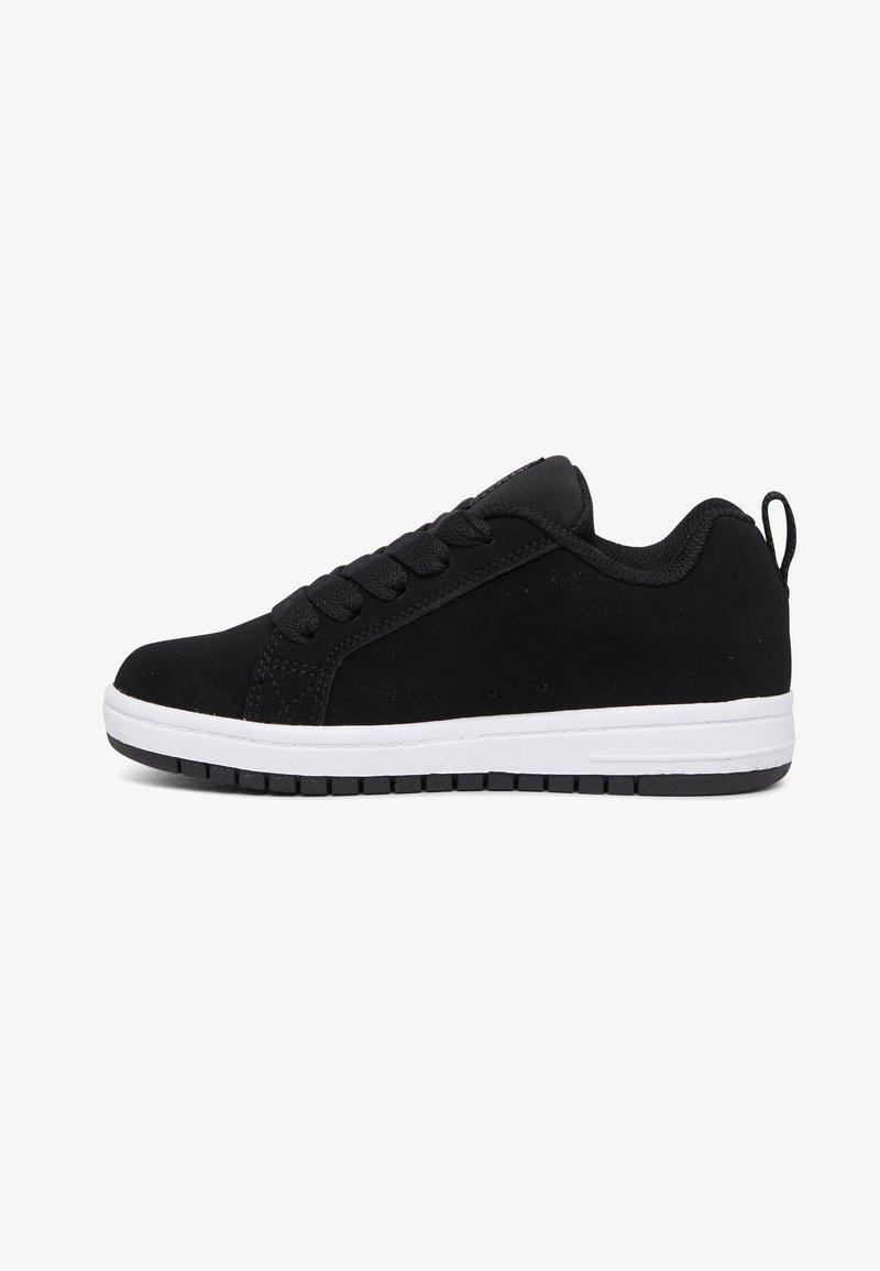 DC Shoes - Trainers - black/white print