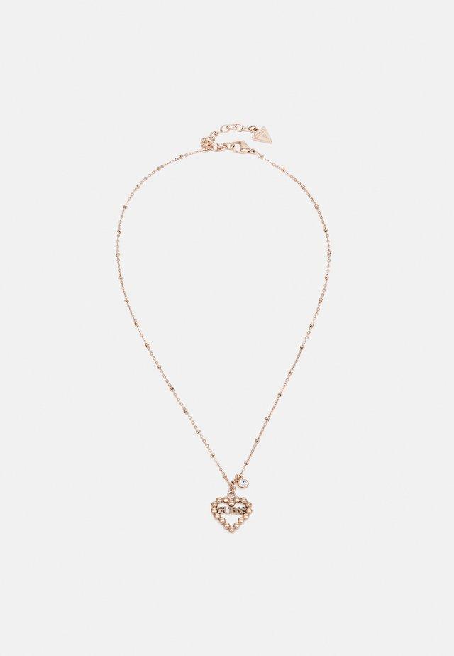 HEART ROMANCE - Collana - rose gold-coloured