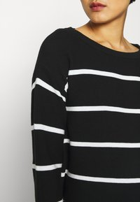 Kaffe - KAMARIA - Jumper - black/chalk - 5