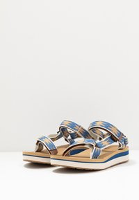 Teva - MIDFORM UNIVERSAL WOMENS - Walking sandals - halcon dark blue - 2