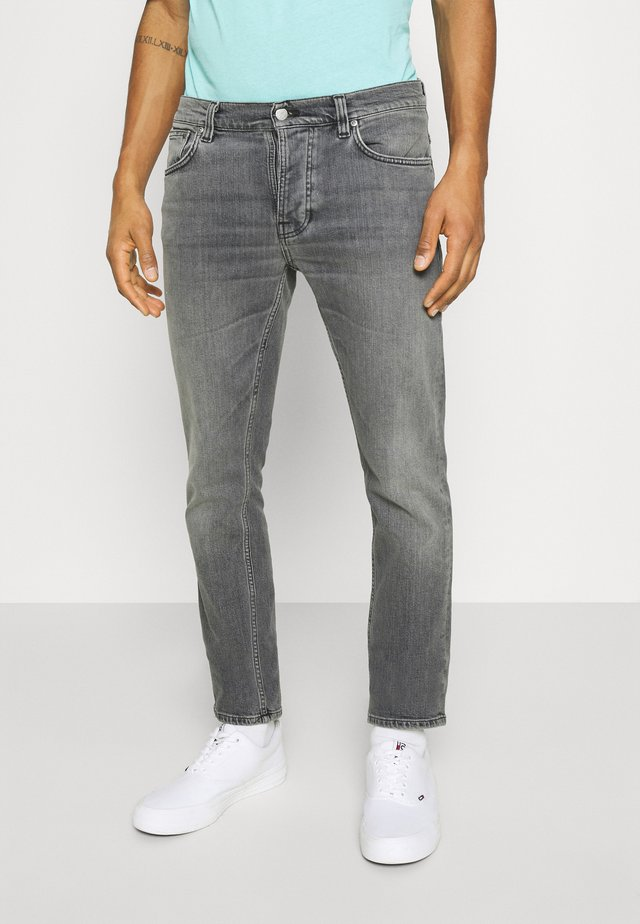 GRIM TIM - Vaqueros slim fit - pale grey