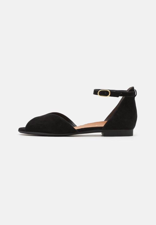 Sandali - schwarz