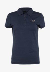 EA7 Emporio Armani - Print T-shirt - navy - 4