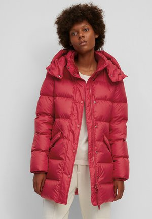 MIDDLE LENGTH - Down coat - bright pomegranate
