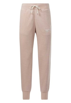 TRAINING ESSENTIALS LOGO JOGGERS - Tracksuit bottoms - pink