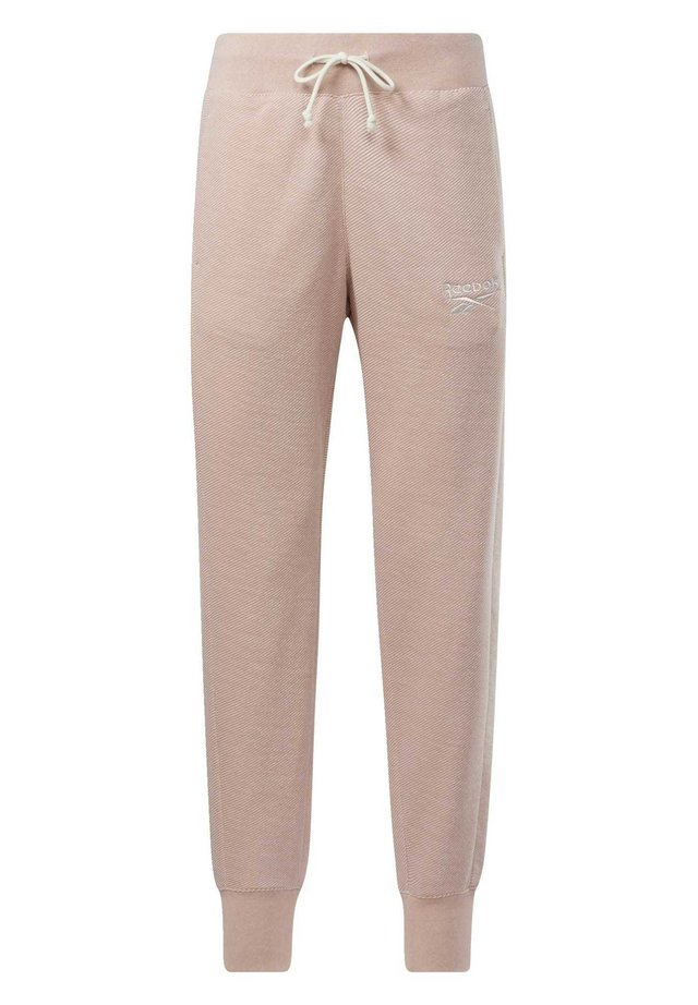 TRAINING ESSENTIALS LOGO JOGGERS - Pantalon de survêtement - pink