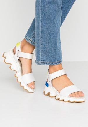 KINETIC™  - Platform sandals - sea salt
