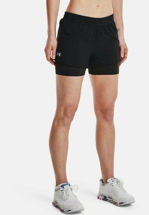 2-IN-1 - Sports shorts - black