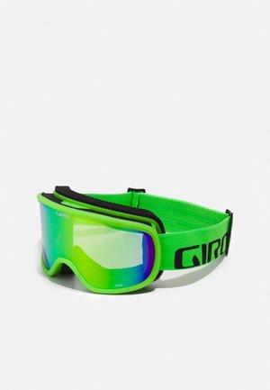 GIRO CRUZ UNISEX - Ski goggles - bright green wordmark