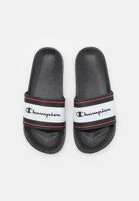 Champion - SLIDE CLEARWATER - Rantasandaalit - black - 3