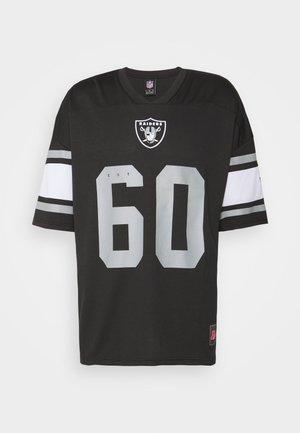 NFL LAS VEGAS RAIDERS FRANCHISE SUPPORTERS - Klubové oblečení - black