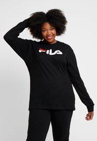 Fila Plus - PURE LONG SLEEVE - Sweatshirt - black - 0