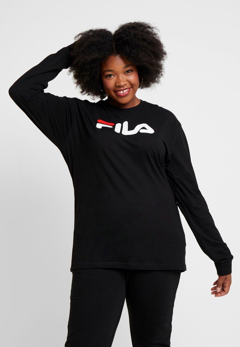 Fila Plus - PURE LONG SLEEVE - Sweatshirt - black