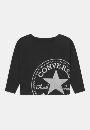OVERSIZED CHUCK PATCH DOLMAN  - Long sleeved top - black