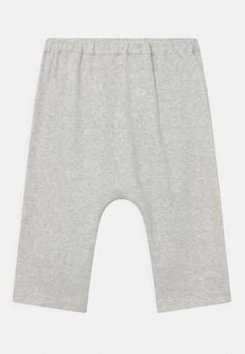 UNISEX - Trousers - light grey melange