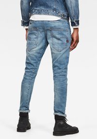 G-Star - D-STAQ 3D SLIM - Slim fit jeans - vintage striking blue - 1