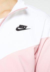 Nike Sportswear - TRACK SUIT SET - Zip-up hoodie - pink glaze/white - 4