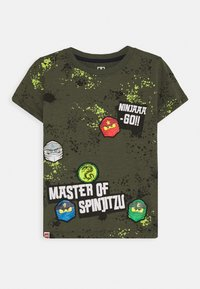 LEGO Wear - Print T-shirt - green - 0