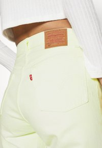 Levi's® - 501 CROP - Jeansy Slim Fit - in the lime - 4