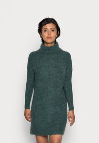 ONLY - JANA - Abito in maglia - mallard green - 0