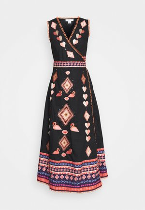 ATIA MIDIAXI WRAP DRESS - Day dress - multi