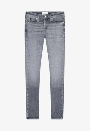 Slim fit jeans - denim grey