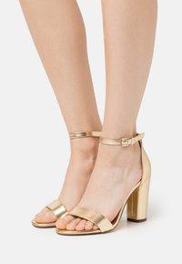 Call it Spring - TAYVIA  - High heeled sandals - gold - 0