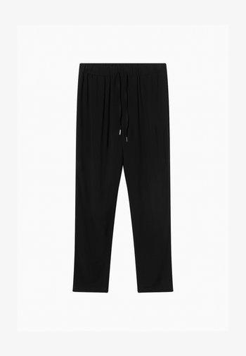 ELEGANTE - Trousers - schwarz