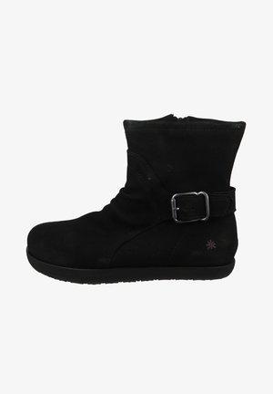 ELEGANTE RHODES - Platform ankle boots - black