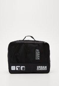 Urban Classics - TRAVELLER LAUNDRY SET - Wash bag - black - 3