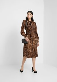 Lauren Ralph Lauren - POLY DRESS - Day dress - black/multi-coloured - 1