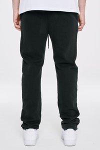 Pegador - LOGO WIDE PANTS UNISEX - Teplákové kalhoty - black - 2