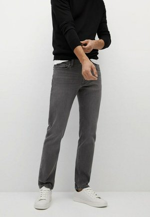 JAN - Jeans slim fit - gris denim