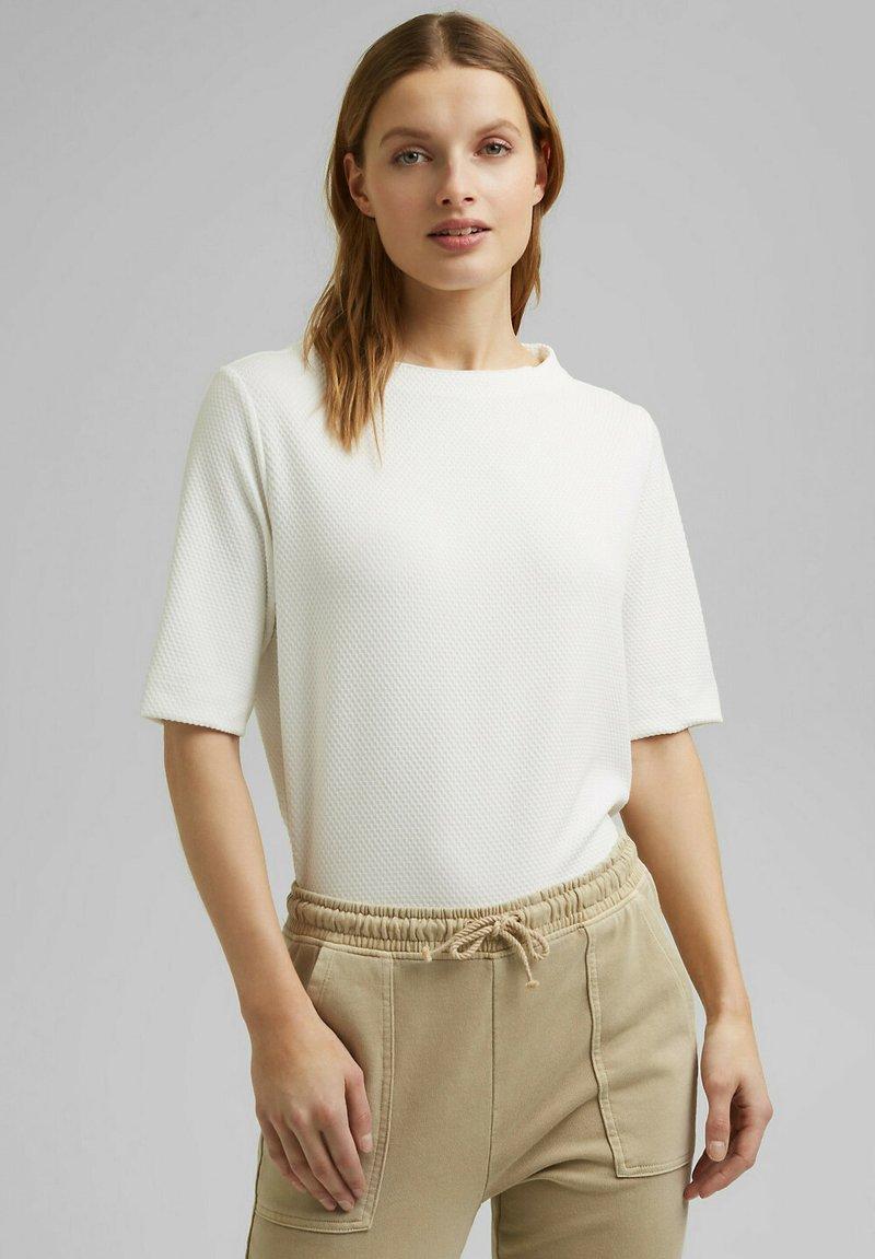 Esprit - FASHION  - Basic T-shirt - off white
