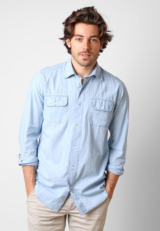 POCKETS DENIM  - Overhemd - denim blue