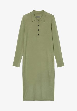 Jumper dress - dried sage