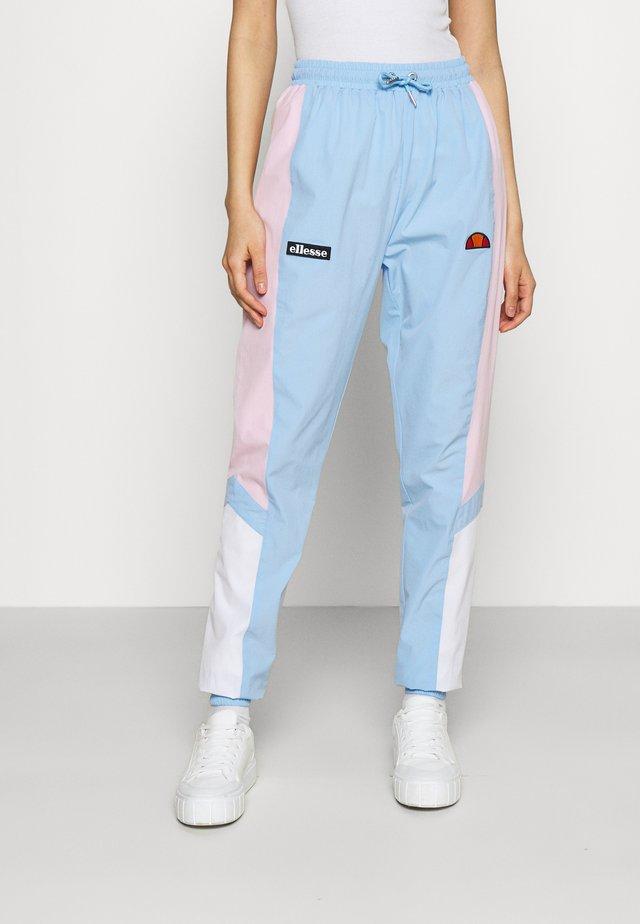 EULALIA TRACK PANT - Verryttelyhousut - light blue