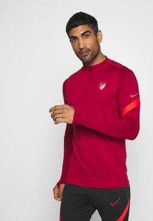 TÜRKEI DRY TOP - National team wear - red crush/habanero red