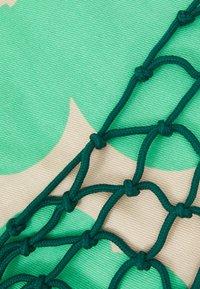 Marimekko - BARITA PIENI UNIKKO BAG - Tote bag - dark green/green/beige - 3
