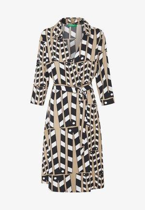 DRESS BELT - Shift dress - beige