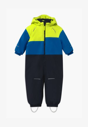 NMMSNOW BLOCK - Snowsuit - acid lime