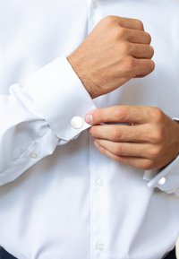 KUZZOI - Boutons de manchette - white - 1