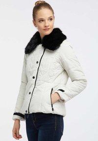 usha - Winter jacket - wool white - 0