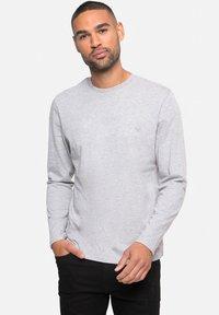 Threadbare - 5 PACK - Long sleeved top - navy/grey marl/black/white/blue - 2