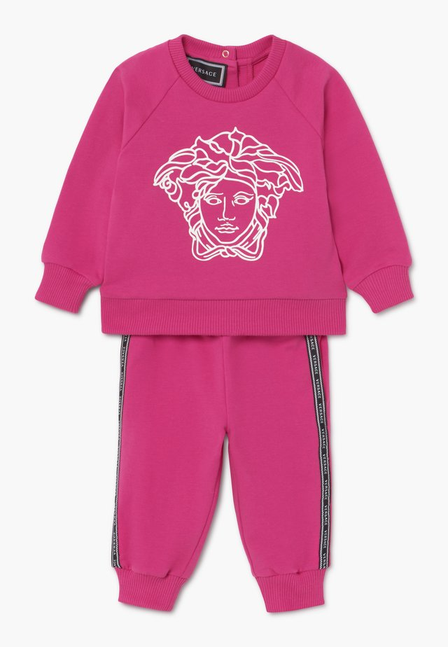 TUTA BABY SET - Trainingspak - fuxia