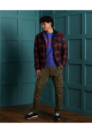 Sweatshirt - mazarine blue marl