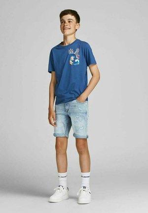 Print T-shirt - ensign blue