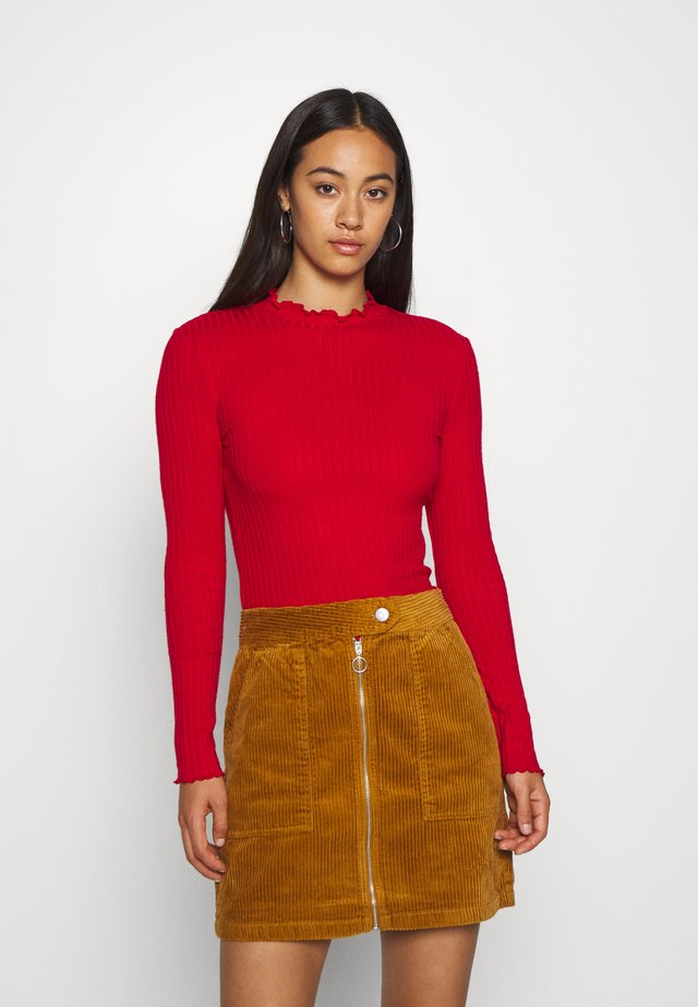 NMBERRY HIGH NECK  - Pullover - haute red