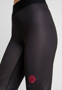 BIDI BADU - Legginsy - black/white - 3